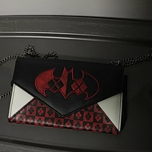 Batman clutch purse